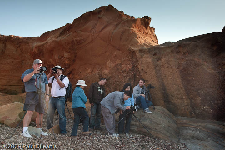 Members of the September 2009 Coastal Photography Workshop
